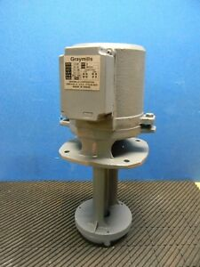 Graymills 20 Gpm Immersion Machine Recirculating Coolant Pump 115 230v Imv25 e