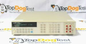 Hp Agilent Keysight 3458a Opt 001 002 8 5 Digit Multimeter Calibrated With Data