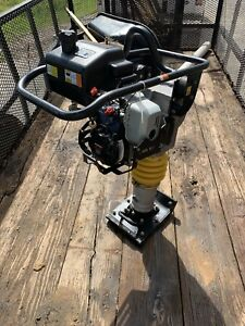 Packer Brothers Pb78 Rammer Tamper Jumping Jack Honda 3hp Used Less Than 5hrs