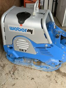 2014 Weber Cr 7 Msm Compatrol Reversible Plate Compactor Used 4 Hrs