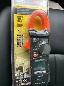 Klein Tools Cl312 400a Ac Auto ranging Digital Hvac Clamp Meter New
