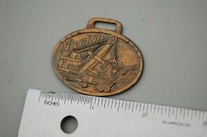 Marion Dragline Shovel Truck Vintage Watch Fob Metal Heavy Equipment Earth Mover