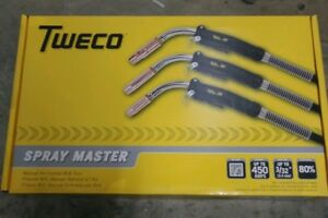 Tweco Spraymaster Mig Gun 450 A Wire 045 1 16 In For Miller Tweco Ms415m116