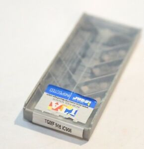 Tgmf 508 Ic908 Iscar 10 Inserts Factory Pack