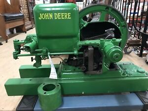 John Deere Hit And Miss Cut a way restored reduced Price