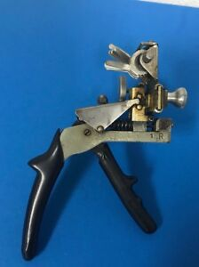 Curtis Key Cutter Model 15 Locksmith Tool Metal W Mz 5 Camset 1z