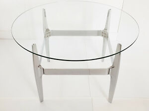Coffee Table Round Vintage Knut Hesterberg For Ronald Schmitt 1970 70s 70 S
