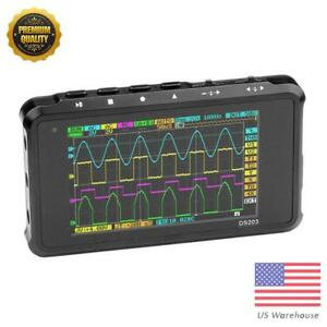 Ds203 Handheld 4 channel Digital Oscilloscope Full Color Tft Lcd 72ms s Scope