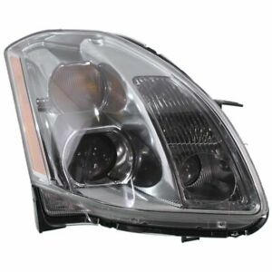 Headlight For 2005 2006 Nissan Maxima Right Xenon Clear Lens Hid Composite