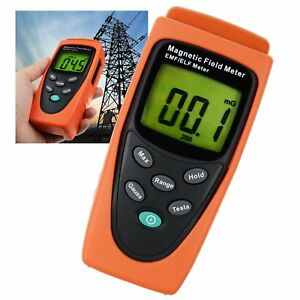 Digital Gauss Emf Elf Meter Detector Electromagnetic Field Mg 30hz 300hz Range