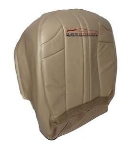 2006 Jeep Grand Cherokee Driver Side Bottom Synthetic Leather Seat Cover Tan