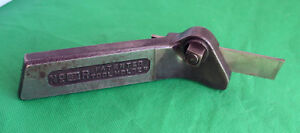Armstrong No 31r Cutting off Tool Holder Machinist Gunsmith Tool