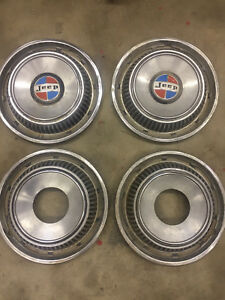 Jeep Commando Hubcaps Hub Caps 15 Factory Take Offs