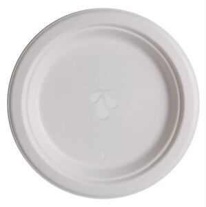 Highmark Compostable Plates 9 White Pack Of 500