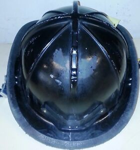 Firefighter Bunker Turn Out Gear Cairns 1010 Black Helmet Reflector H56