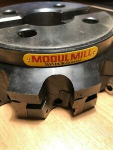 Sandvik Modul Mill Face Mill R283 2 200 Mm Z 12 For Inserts Spkn 1504