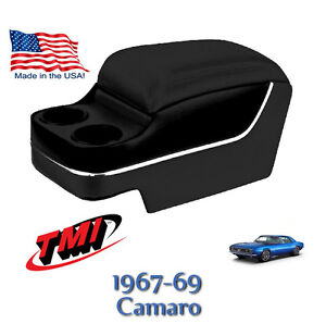Custom Black Deluxe Console For 1967 1968 1969 Camaro By Tmi