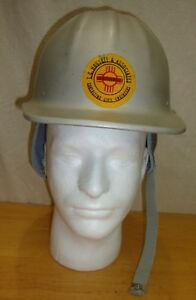 Mcdonald T Cap Standard Mine Safety Appliances Co With Winter Liner
