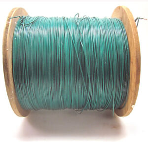 New 4 450 Ft 22awg Green Ul1015 Hook Up Wire 600v Stranded Electrical
