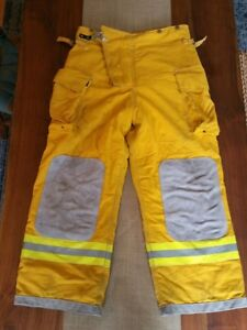 Quaker Safety Firefighter Suits Fire Turnout Pants Bunker Gear 40 29 Halloween