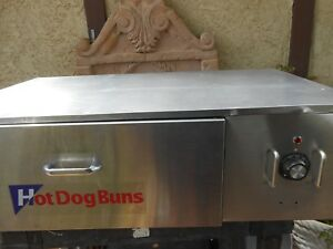 Star Sst 45ho Hot Dog Bun Warmer
