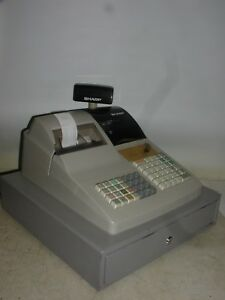 Sharp Er a440 Cash Register Good Condition Fully Functioning With Manual