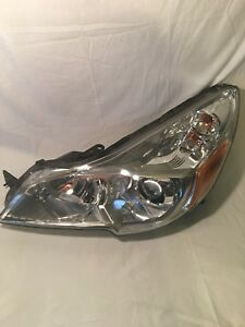 2010 2011 2012 Subaru Outback Lh Driver Side Headlight Lamp Oem A052