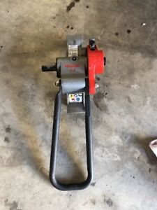 Ridgid 916 Roll Groover 1 1 4 To 6 In