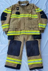 Janesville Isodry Firefighter Turnout Bunker Gear Very Nice Condition