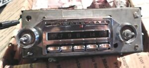 1958 1962 Chevrolet Chevy Impala Corvette Wonderbar Radio Original Restored