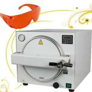 18l 900w Medical Steam Sterilizer Dental Lab Sterilizer Equipment Oral Tool Fda