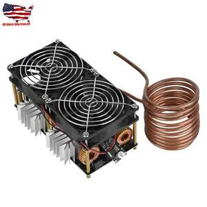 1 Pc Stable Zvs 12v 48v 40a Induction Heating Board Module Flyback Driver Heater