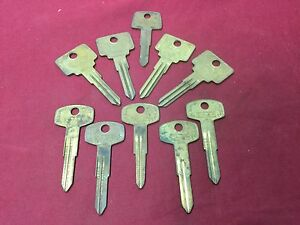 Chevy Nissan Volva By Curtis Automotive Key Blanks Set Of 10 Locksmith