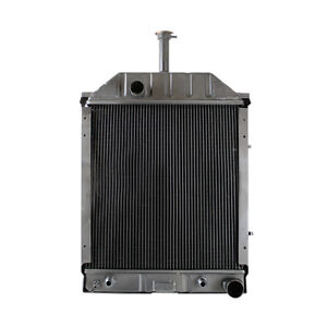 New Radiator For Ford New Holland 555 Indust const 87767038 D4nn8005g