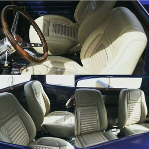 Concours Custom Bucket Seats Street Hot Rod Interior Great For 53 56 F100