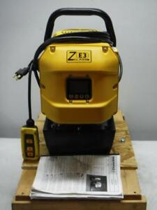 New Enerpac Ze3308sb High Force Hydraulic Electric Pump With Remote Fast Ship