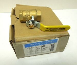 Brass Ball Valve 1 2 Fnpt 600 Wog Full Port Lot Of 10