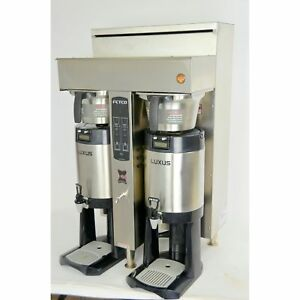 Fetco Cbs 2052e Extractor Twin Coffee Brewer Double Commercial Machine 240v