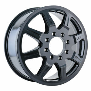 Mayhem 8101 Monstir Dually 19 5x6 75 8x165 1 Offset 102 Black quantity Of 4