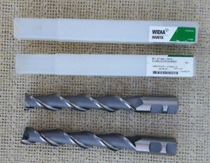 Lot Of 2 Hanita Hss Endmill 1 Sc new