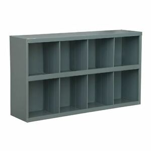 Metal 8 Hole Storage Bolt Bin Cabinet Compartment Nuts Bolts Fasteners Screws