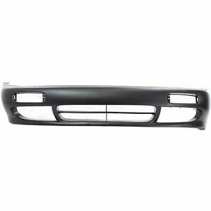 Front Bumper Cover For 1995 1996 Nissan 240sx Textured Plastic