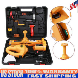 480 N m Car Jack Lifting Impact Wrench Tool 6600 Lbs Automotive Electric Scissor