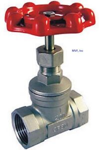 3 4 200 Female Npt Globe Valve 316 Stainless Steel 2028sl