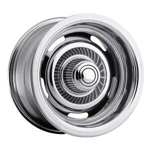 Vision American Muscle 57 Rally Series Chrome Wheel 57 5504