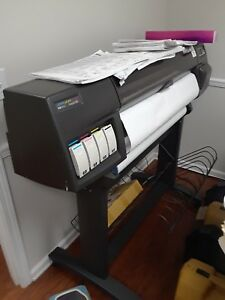Model C6074a Hp Designjet 500 Wide Format Printer Plotter