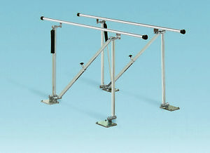 Single Operator Adjustable Parallel Bars Floor Mounted Model 560 10