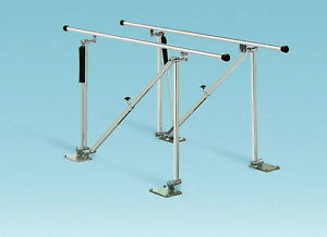 Single Operator Adjustable Parallel Bars Floor Mounted Model 560 14