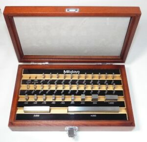 Mitutoyo 35 Piece Gauge Block Set 516 914 26 Grade 0 Be1 35 0a a