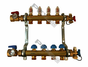 Rehau Pro balance Radiant Floor Heat Manifold For Pex Pipe 4 Circuit